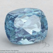 Aquamarine Cushion Shape Calibrated Gemstones