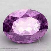 Brazilian Amethyst Oval Shape Calibrated Gemstones