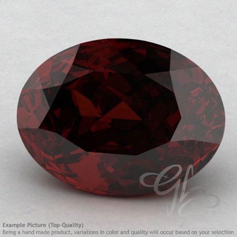 Garnet Oval Shape Calibrated Gemstones