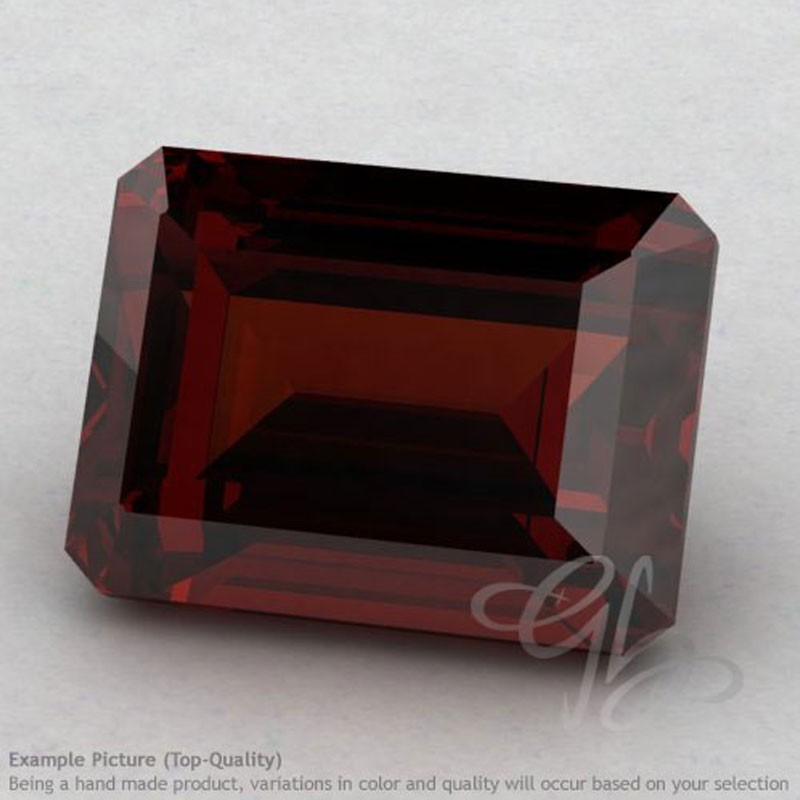 Garnet Octagon Shape Calibrated Gemstones