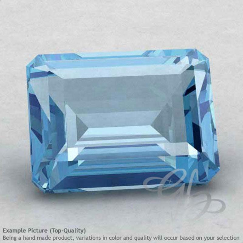 Sky Blue Topaz Octagon Shape Calibrated Gemstones