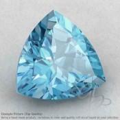 Sky Blue Topaz Trillion Shape Calibrated Gemstones