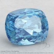 Sky Blue Topaz Cushion Shape Calibrated Gemstones