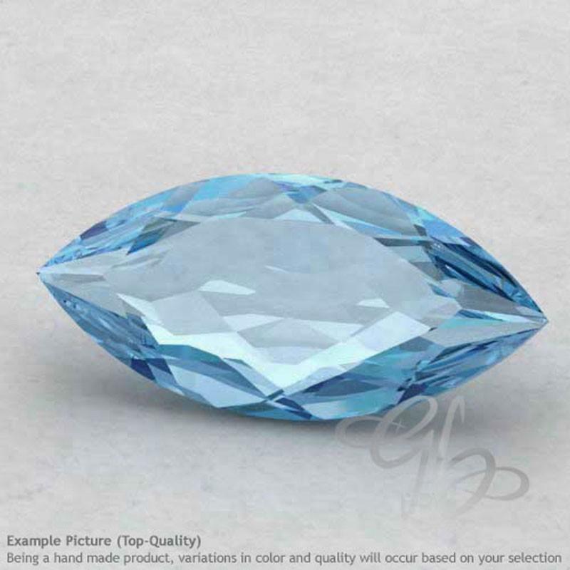 Sky Blue Topaz Marquise Shape Calibrated Gemstones