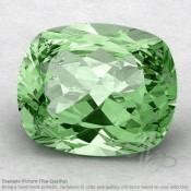 Green Amethyst Cushion Shape Calibrated Gemstones