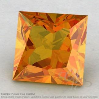 Citrine Square Shape Calibrated Gemstones