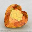 Citrine Heart Shape Calibrated Gemstones
