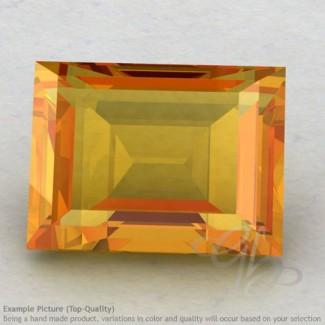 Citrine Baguette Shape Calibrated Gemstones