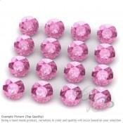 Lab Pink Sapphire Round Shape Micro Gemstones