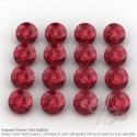 Lab Ruby Round Shape Micro Gemstones