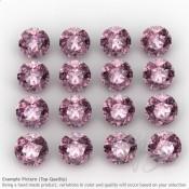Pink Tourmaline Round Shape Micro Gemstones