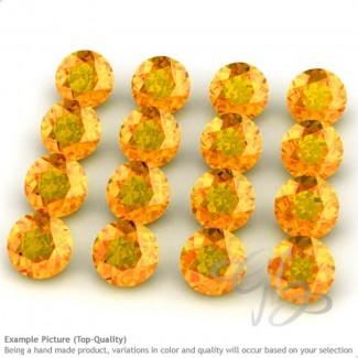 Spessartite Garnet Round Shape Micro Gemstones