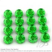 Tsavorite Round Shape Micro Gemstones