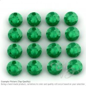 Green Onyx Round Shape Micro Gemstones