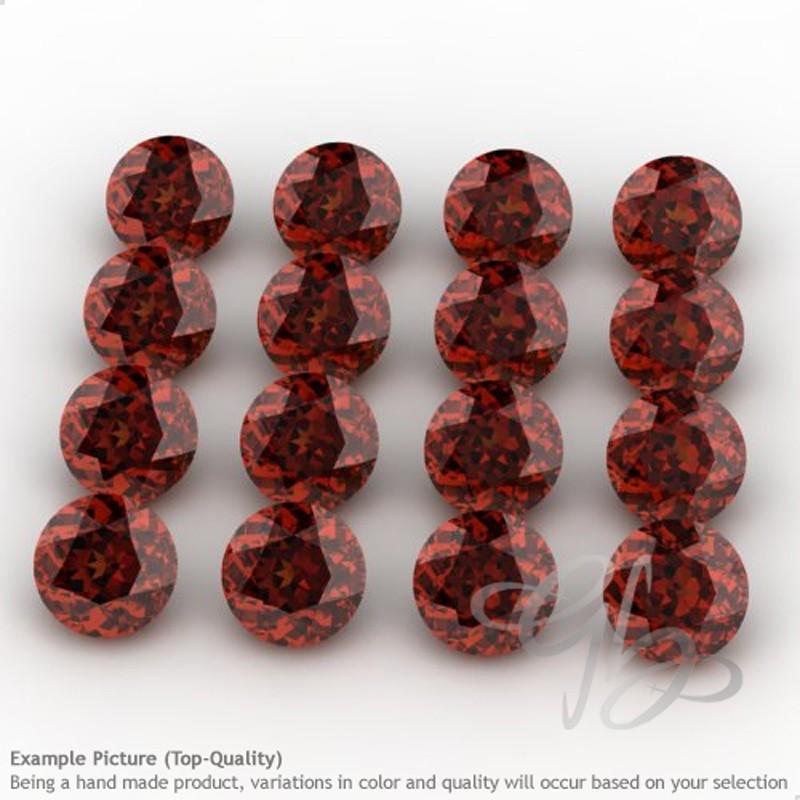 Garnet Round Shape Micro Gemstones