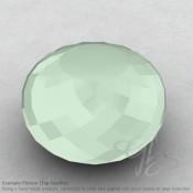 Aqua Chalcedony Rondelle Shape Calibrated Beads