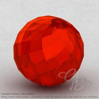 Carnelian Round Shape Calibrated Beads