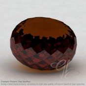 Cognac Quartz Rondelle Shape Calibrated Beads
