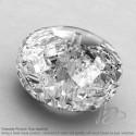 Crystal Quartz Rondelle Shape Calibrated Beads