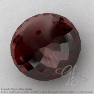 Garnet Rondelle Shape Calibrated Beads