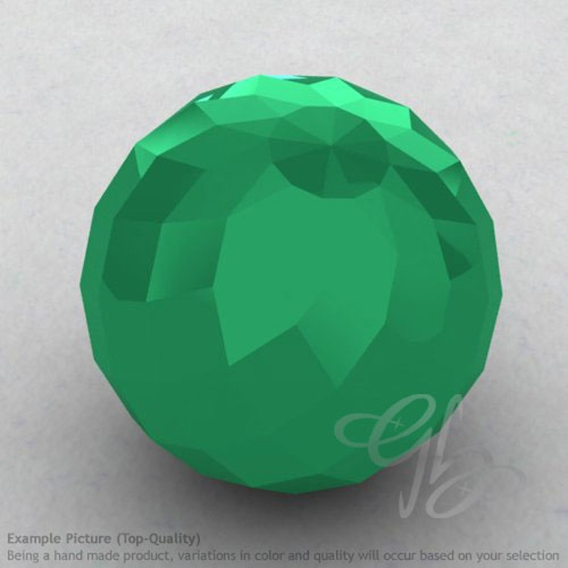 Green Onyx Round Shape Calibrated Beads