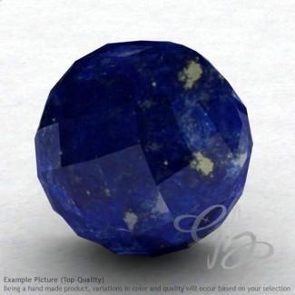 Lapis Lazuli Round Shape Calibrated Beads