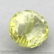 Lemon Quartz Rondelle Shape Calibrated Beads