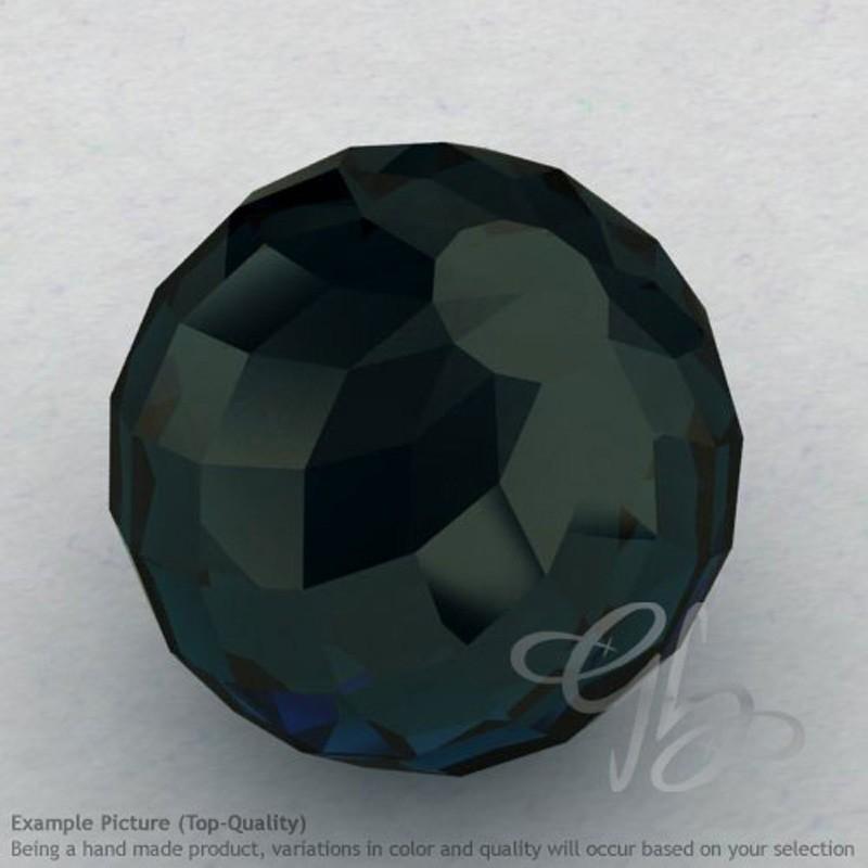 London Blue Topaz Round Shape Calibrated Beads