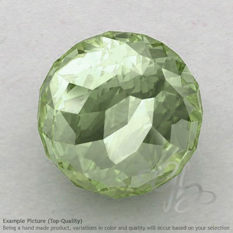 Prehnite Round Shape Calibrated Beads
