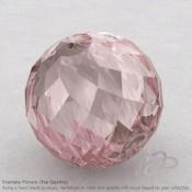 Rose Quartz Round Shape Calibrated Beads