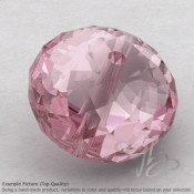 Rose Quartz Rondelle Shape Calibrated Beads