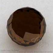 Whisky Quartz Round Shape Calibrated Beads