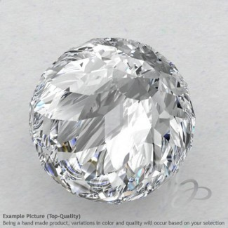 White Topaz Round Shape Calibrated Beads
