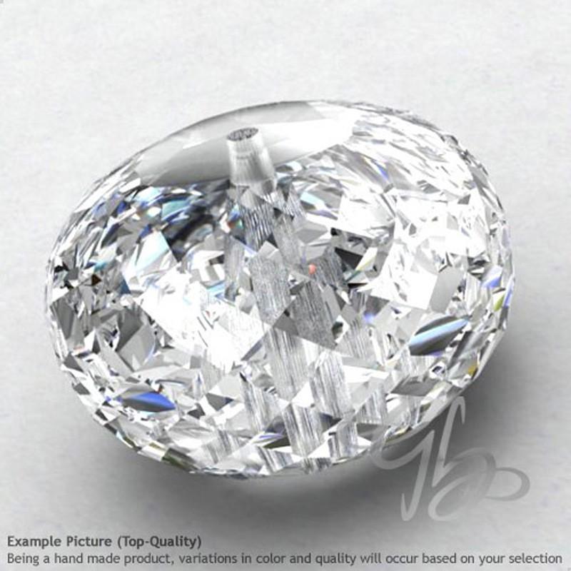 White Topaz Rondelle Shape Calibrated Beads