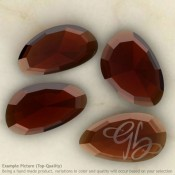 Garnet Irregular Shape Rose-Cut Gemstones