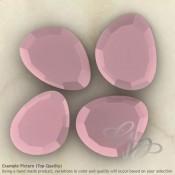 Pink Chalcedony Irregular Shape Rose-Cut Gemstones