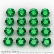 Hydro Emerald Round Shape Micro Gemstones
