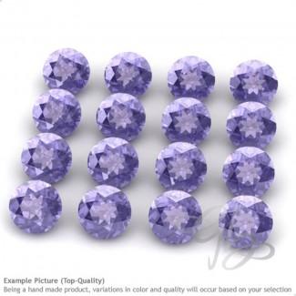 Tanzanite Round Shape Micro Gemstones