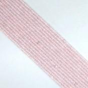 Rose Quartz 4-4.5mm Faceted Rondelle Shape Beads Strand