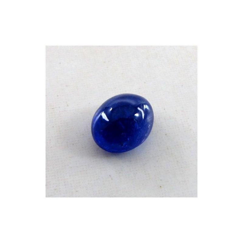 6.55 Cts. Tanzanite 9x11mm Oval Shape Single Cab Piece