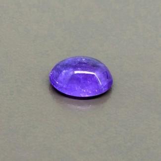 4.50 Cts. Tanzanite 11.5x9mm Smooth Oval Shape Single Cab Piece (1 Pcs.)