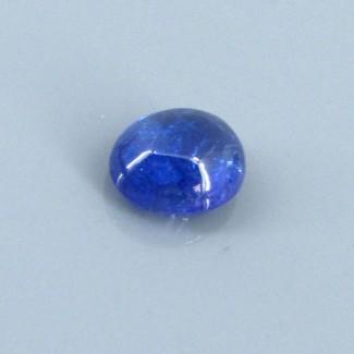 4.09 Cts. Tanzanite 10.5x8.5mm Oval Shape Single Cab Piece