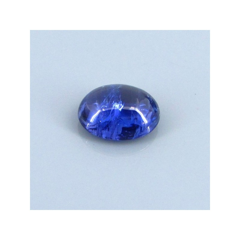 4.08 Cts. Tanzanite 11x8mm Oval Shape Single Cab Piece