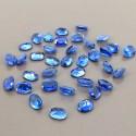 54.30 Cts. Blue Kyanite 8x6mm Regular Cut Oval Shape Loose Gemstone (Total 36 Pcs.)