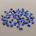64.10 Cts. Blue Kyanite 7x5mm Regular Cut Oval Shape Loose Gemstone (Total 66 Pcs.)