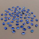 65.75 Cts. Blue Kyanite 7x5mm Regular Cut Oval Shape Loose Gemstone (Total 66 Pcs.)