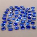 74.85 Cts. Blue Kyanite 8x6mm Regular Cut Oval Shape Loose Gemstone (Total 52 Pcs.)