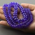 Tanzanite 6-12.5mm Smooth Rondelle Shape 26 Inch Long Gemstone Bead