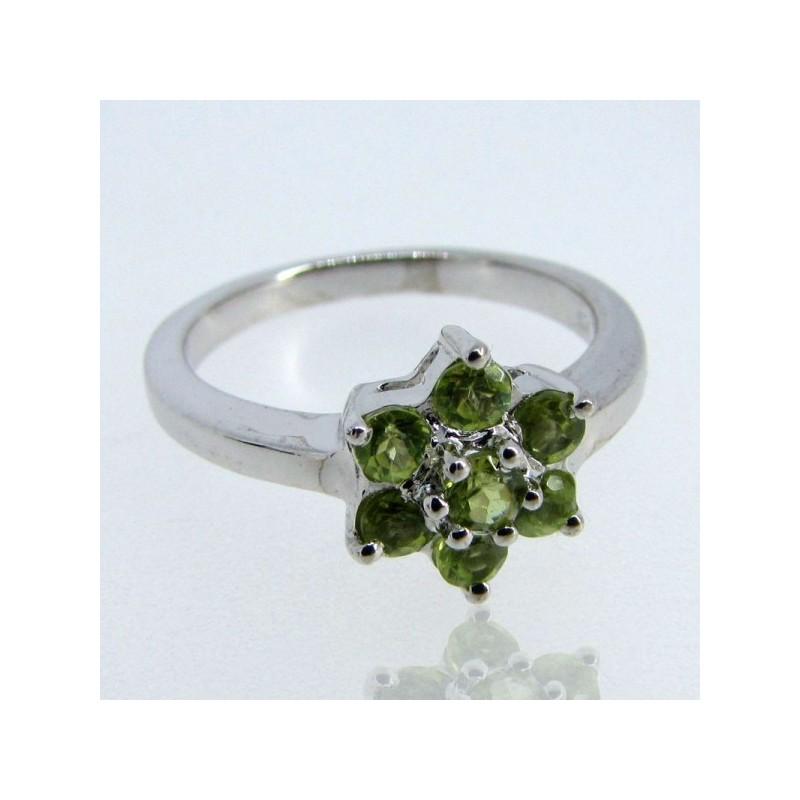 Peridot 925 Sterling Silver Ring