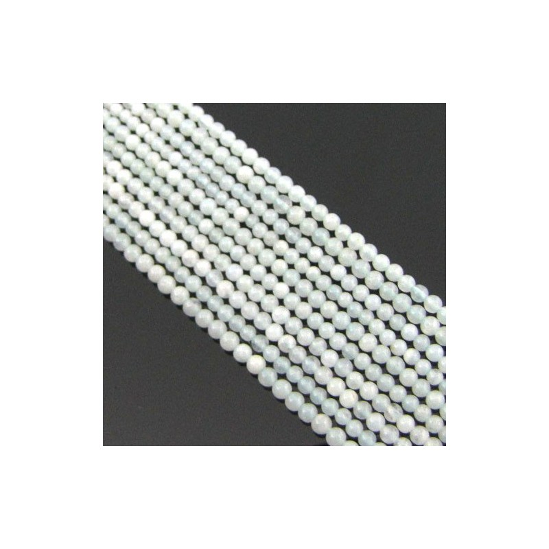 Amazonite 2-2.5mm Smooth Round Shape Beads Strand